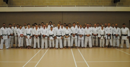 Winter Course Chelmsford group photo.