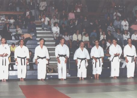 Men's kata finalists Crystal Palace.
