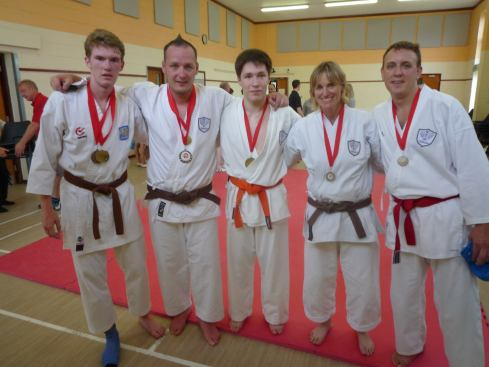 Shikukai Chelmsford members have success in a local competition.