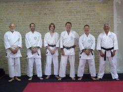 Tim Shaw at Steve Greenwood's Dojo in France.