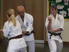 Sugasawa Sensei teaching Chelmsford students.