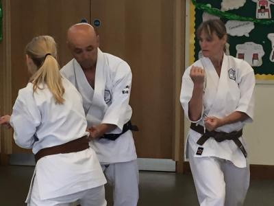 Sugasawa Sensei teaching Chelmsford students.