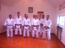 Shikukai Instructors course Northern France.