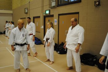 Sugasawa Sensei at our successful Winter Course in Danbury.