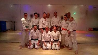 Misogi training, June 2016.