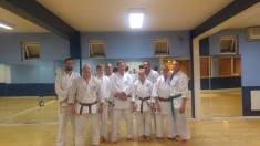 Aftermath of a heavy session at our Dovedales Dojo, Chelmsford.