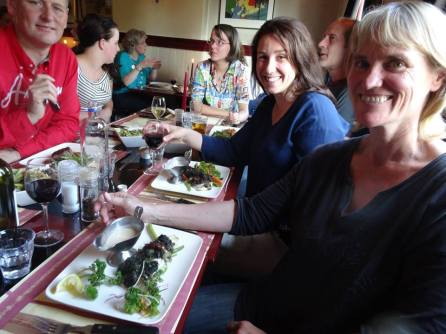 Shikukai Chelmsford students enjoy the hospitality of our contacts in Holland. Location; near Amsterdam.