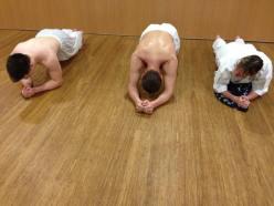 Plank challenge.