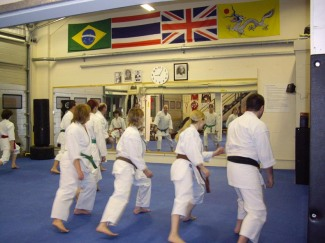 2013 - Shikukai Chelmsford's Thursday night venue at Chelmsford City Martial Arts.