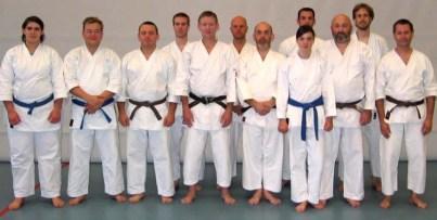 2007 Tim Shaw teaching in Belgium.