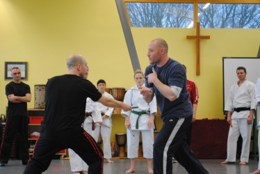 2011 - Bladed Weapons Course.