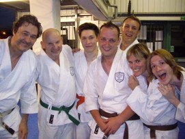 2014 - Shikukai Chelmsford regulars after training at Chelmsford City Martial Arts Centre.