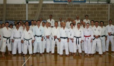 2010 - Colchester Essex. A packed and highly successful seminar with Sugasawa Sensei, hosted by Shikukai Chelmsford.