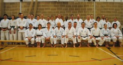 2011 - Group, Colchester Essex. Two day course with Sugasawa Sensei hosted by Shikukai Chelmsford.