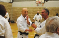 2011 - Colchester. A lighter moment during Sundays training.