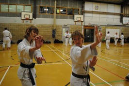 2011 - Colchester. Working on preparation for Kumite.