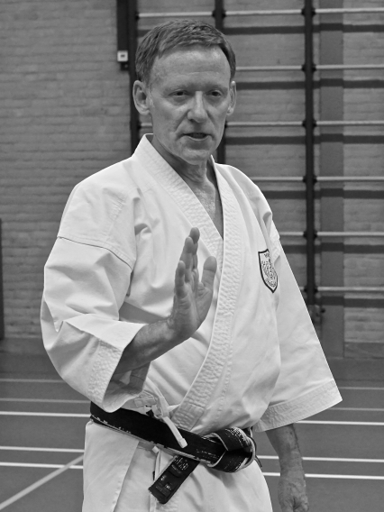 Shikukai Chelmsford instructor Tim Shaw.