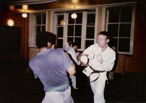 Tim Shaw Leeds YMCA 1980.