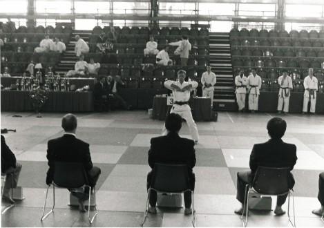 1995 Tim Shaw kata competition Crystal Palace.