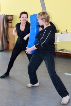 2012 - Womens self defence & Personal Protection course. Impact work is an important aspect.