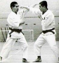 The late Takamizawa Toru Sensei and Wado Ryu Grandmaster Ohtsuka Hironori II.