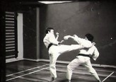 Tim Shaw & Mark Harland sparring at Leeds YMCA 1978