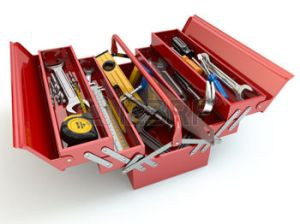 30647530-toolbox-with-tools-on-white-isolated-background-3d
