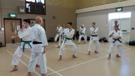 Winter course. Sugasawa Sensei Teaching