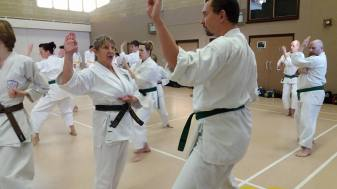 Winer course Pam Rawson Sensei teaching.