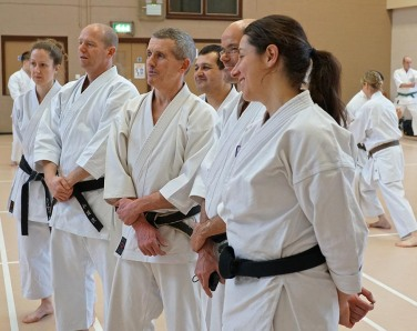 2017 Winter Course hosted by Shikukai Chelmsford.