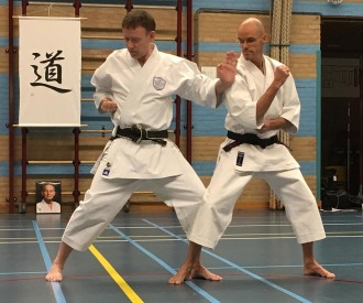 Tim Shaw & Martijn Schelen, Holland course 2017.