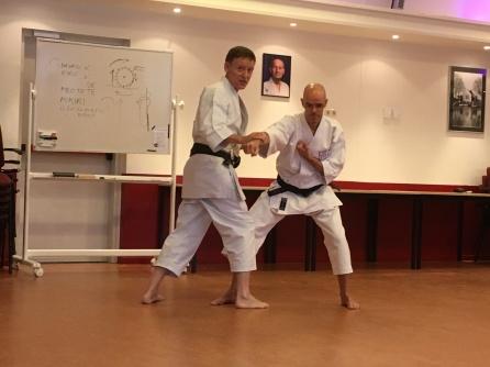 Tim Shaw teaching in Holland February 2017