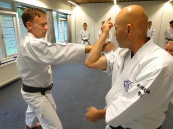 Sugasawa Sensei & Tim Shaw, Holland