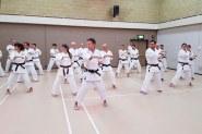 Tim Shaw teaching on the Shikukai Winter Course.