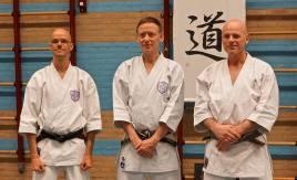 Tim Shaw & Martijn Schelen and Robert Vernooy, March Course Holland 2018.