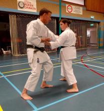 Tim Shaw teaching in Holland.