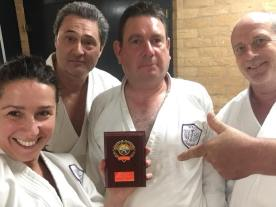 Members of Shikukai Chelmsford at the Shikukai National Kata Championships.