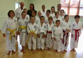 Shikukai Chelmsford Children's grading in Hertford 2018