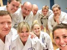 Chelmsford Dojo night with visitor from the Netherlands.