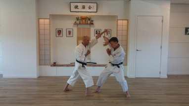 Holland Tim Shaw Sensei teaching in Holland.