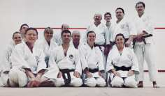 We still keep training through the summer. Our Tuesday night class.
