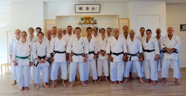 Group photo September course Holland.