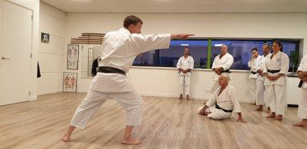 Tim Shaw teaching in the Netherlands, September