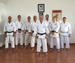Sue Dodd from Shikukai Chelmsford at the French instructors course.